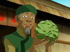 cabbage man