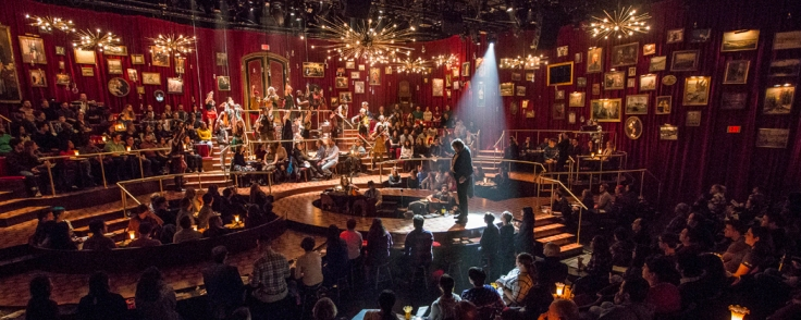 great comet immersive set